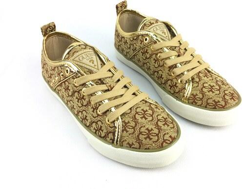 972a43b618 Dámské boty Guess Jolie Zlaté - Glami.cz