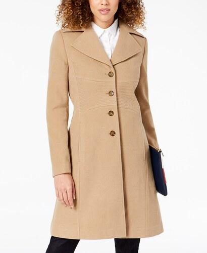 52505198d40 Dámský kabát Tommy Hilfiger Single Breasted Coat - Glami.sk