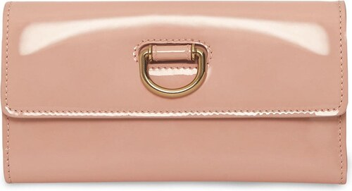 Burberry D-ring Patent Leather Continental Wallet - Pink - Glami.sk bb6434eb955