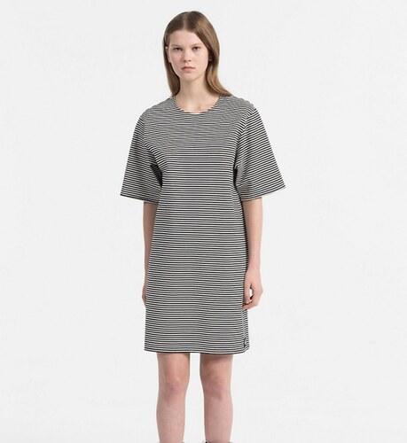 8a4ea1610f Calvin Klein dámske pruhované šaty Daisy - Glami.sk