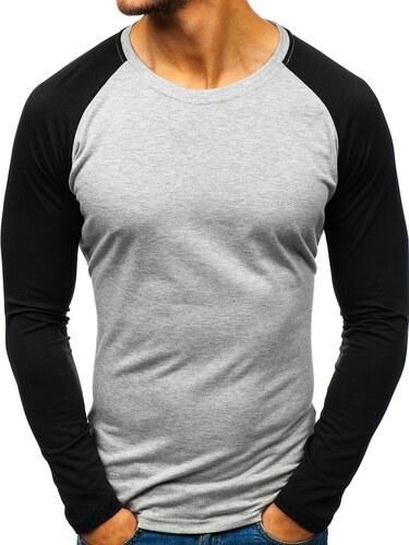 Šedá pánská košile s dlouhým rukávem Bolf 5005A - Glami.cz 6e427c22bd