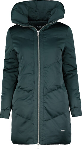 Firetrap Long Puffa Jacket Khaki - Glami.cz bb0f777de12