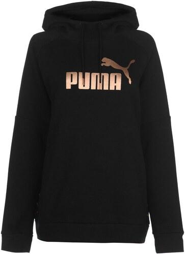 mikina Puma Tape Hoodie dámská Black RoseGold - Glami.cz 432d988155