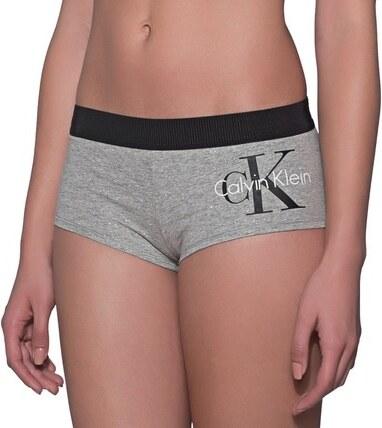 90b953ca4 Calvin Klein Dámske nohavičky boyshort QF1646E-IL7 Grey - Glami.sk