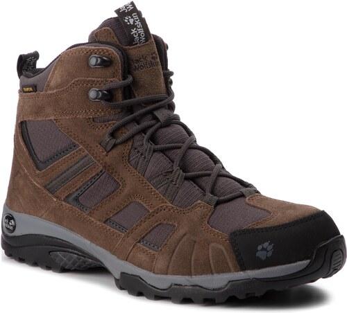 Bakancs JACK WOLFSKIN - Vojo Hike Mid Texapore Men 4011361 Dark Wood ... d7d60ad696