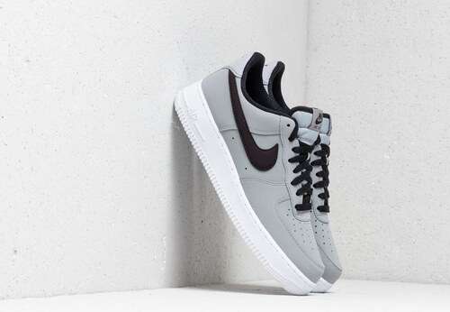 dda496f1686 Nike Air Force 1  07 Leather Wolf Grey  Black-White - Glami.cz