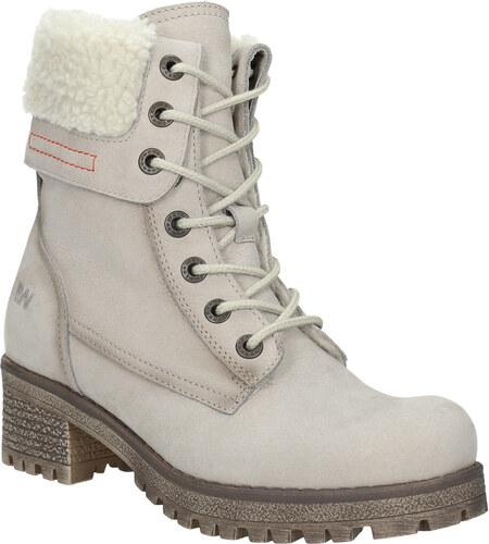 Weinbrenner Kožená zimná obuv s kožúškom - Glami.sk 1034ac2cdb7