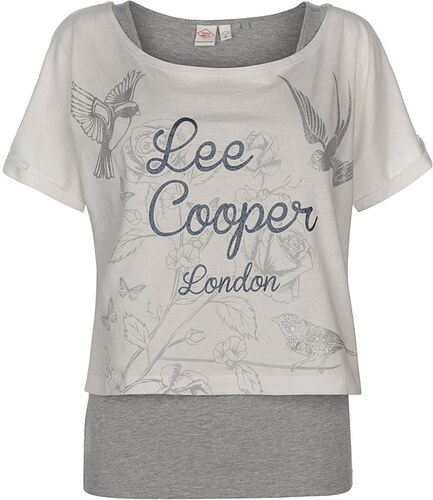 4df4504f016 Dámské stylové tričko Lee Cooper - Glami.cz