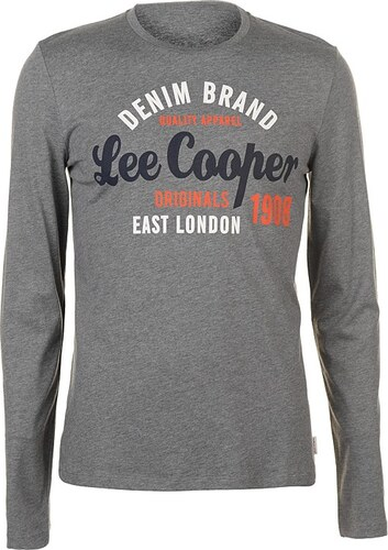 f6d0fd755 Pánske štýlové tričko Lee Cooper - Glami.sk