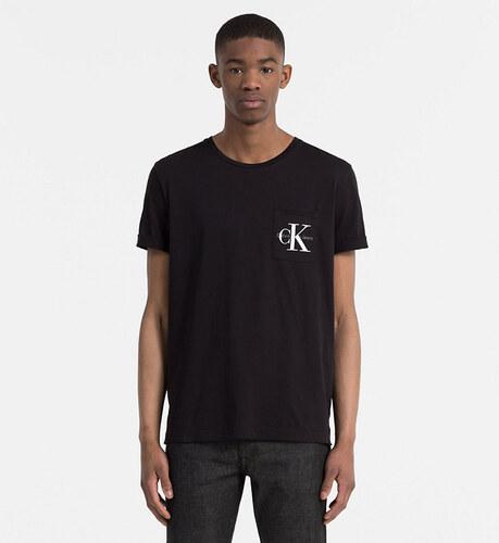 Calvin Klein pánské černé tričko Bolan - Glami.cz 13160f910c