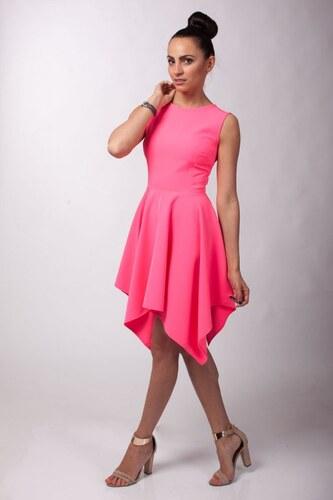 Mattire Dámské koktejlové šaty Mattire Marry růžové - růžová - Glami.cz 0745c9edfc