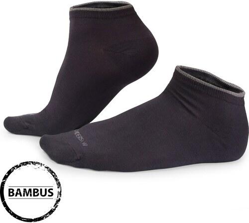 Henderson Bambusové ponožky Eloi nízké šedé šedá - Glami.cz d3cf7813c9