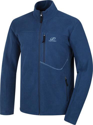 60472840cee2 -45% HANNAH Carson Pánská fleece mikina 217HH0080KJ03 Majolica blue XL