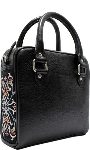 GOSHICO - Kožená vyšívaná kabelka Fancy - 65-203143 - Glami.cz c62d99cdcb5