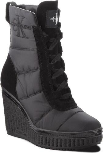 Magasított cipő CALVIN KLEIN JEANS - Sole RE9774 Black - Glami.hu c9ca2e422f