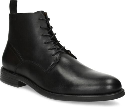 Vagabond Pánska čierna kožená členková obuv - Glami.sk 81b617db40c
