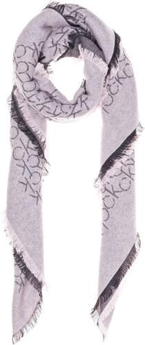 Calvin Klein Šátek Černá Růžová - Glami.cz 68f50e1560