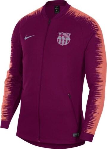 35942c40f278c FC Barcelona pánská bunda 18 anthem maroon Nike 16430 - Glami.cz