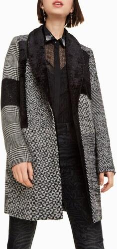 Desigual sivý kabát Merlon - Glami.sk 1b41ebfd25f