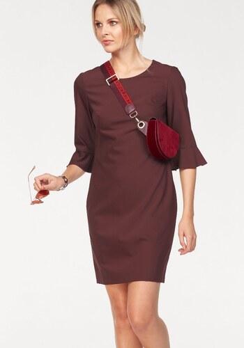 fc459b966462 CLAIRE WOMAN Puzdrové šaty bordová - Glami.sk