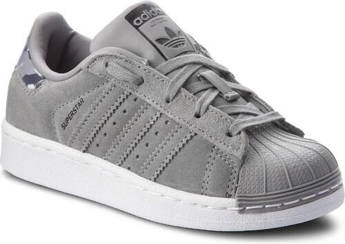41dd20c3ab Cipő adidas - Superstar C B37278 Chsogr/Chsogr/Ftwwht - Glami.hu