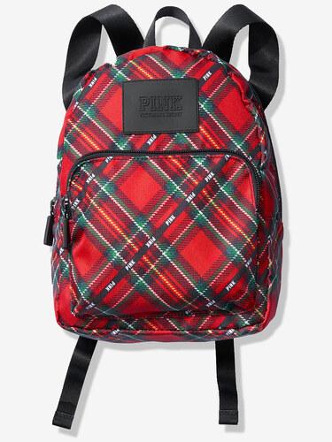 9effc70461e Dámský batoh Victoria s Secret PINK MINI BACKPACK červená kostka ...