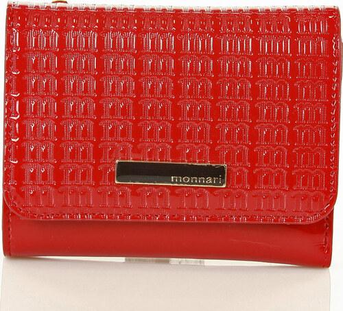 72613740aa MONNARI Červená elegantná peňaženka (0780b) - Glami.sk