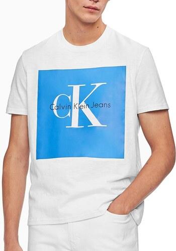 8c27627b3db3 Calvin Klein pánské tričko Fashion 526977 wht - Glami.cz