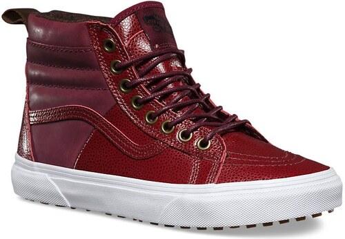 40d3ce2a3a0 -100 Kč vans Dámské zimní boty sk8-hi 46 mte (pebble leather) port royale  40.5