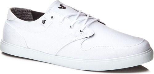 dvs Pánské boty whitmore white canvas 44 - Glami.cz 79f6bc2da5