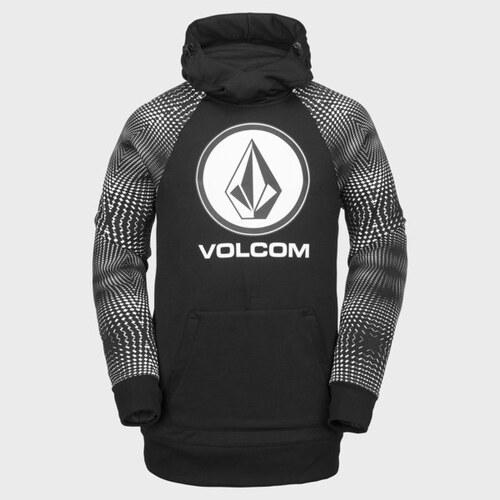 Pánská mikina Volcom Hydro Riding Hoodie Black White XL - Glami.cz 7c00c51a4a3