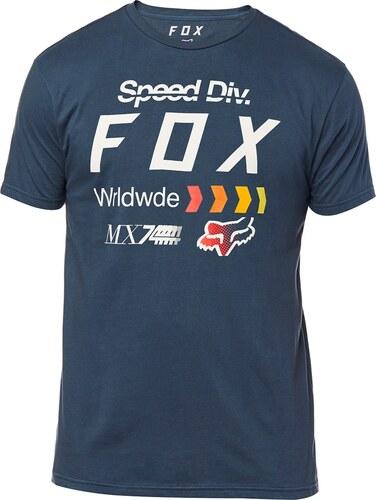 28e4d21a65 Pánske tričko Fox Murc Premium modré - Glami.sk