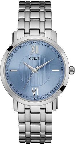GUESS pánské hodinky Silver - Glami.cz d0442a6314