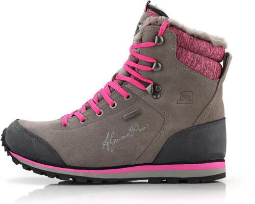 0c3f86f605 ALPINE PRO XALINA Dámska zimná obuv LBTM143779 tmavo šedá 36 - Glami.sk