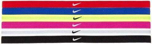 Dámská čelenka Nike SWOOSH SPORT HEADBANDS 6P UNIVERSITY RED GAME ROYAL VOLT 9ef2f86170