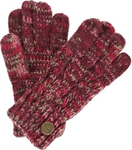 Dámské pletené rukavice Regatta FROSTY Glove II červená - Glami.cz 330c1071337
