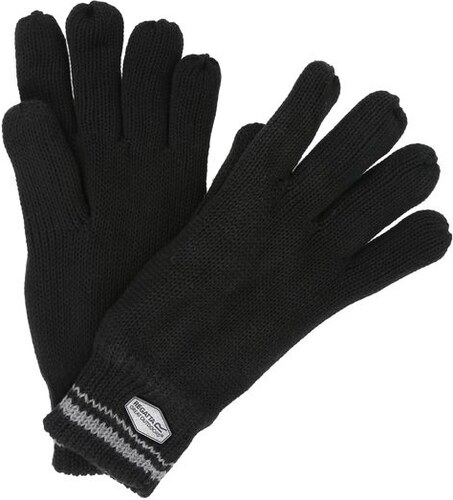 Pánskér rukavice Regatta BALTON GLOVE černá - Glami.cz 70e9fbabe0