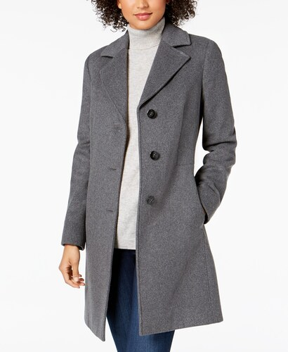 Kašmírový kabát Calvin Klein Walker Coat šedá - Glami.sk 1fe81eb8b3