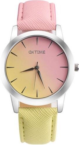 Shim Watch Oktime Dámské hodinky Citronový - Glami.cz 95fca5937e