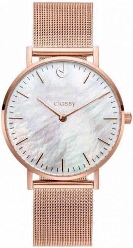 Shim Watch Classy dámské hodinky s opálovým odleskem Růžové - Glami.cz da07da9bfa