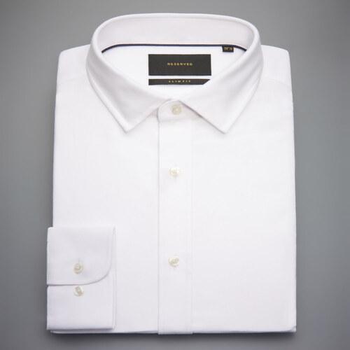 737d77f4d10 Reserved - Bavlněná košile slim fit - Bílá - Glami.cz