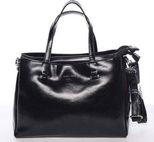 431c33c064 Čierna elegantná kabelka - Silvia Rosa Saba čierna - Glami.sk