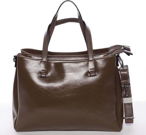 Hnedá elegantná kabelka - Silvia Rosa Saba hnedá - Glami.sk 7f5afad0b21