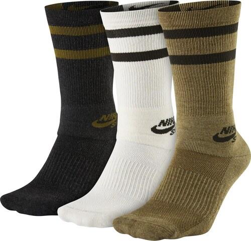 43337b2455b Nike Sb 3Ppk Crew Socks černá XL - Glami.cz