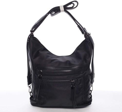 b01625357 Nylónová dámska crossbody kabelka čierna - Delami Thalia čierna ...