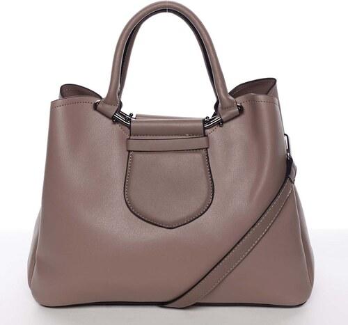 Originálna a elegantná dámska staroružová kabelka do ruky - MARIA C  Terisita ružová 97a64490c9d