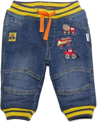 5316bf95439b Gelati Chlapčenské džínsové nohavice s autíčkami - modré - Glami.sk