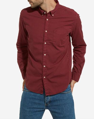 košile Wrangler BUTTON DOWN CORDOVAN RED W5883S4BN - Glami.cz 1d19778308