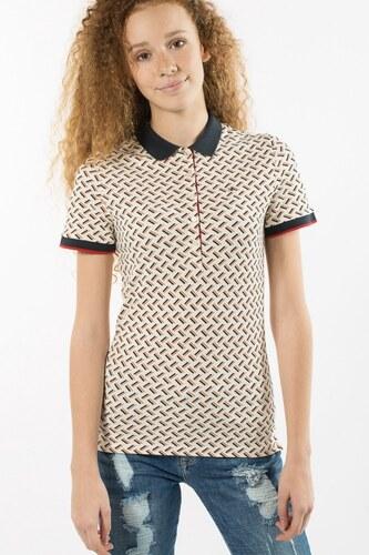Polo tričko - Tommy Hilfiger OTTALINE PRT POLO SS - Glami.sk fb8ab3b218e