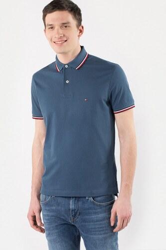 Polo tričko - TOMMY HILFIGER TOMMY TIPPED REGULAR modré - Glami.sk f8b6d05aae4